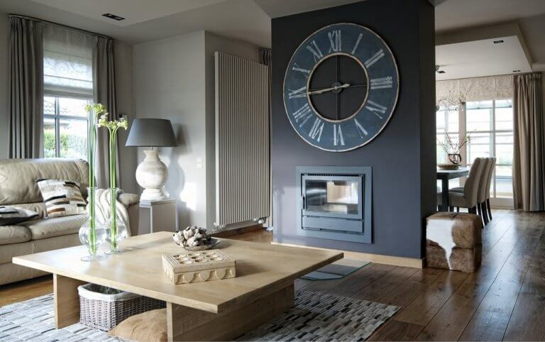 Unique living room wall big clock