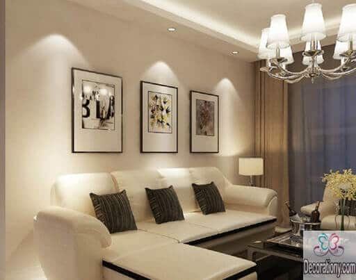 45 living room wall decor ideas living room for Latest decoration of living room