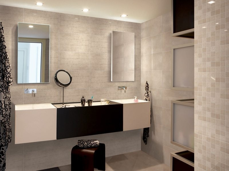 Black Tan And White Bathroom: 20 Best Bathroom Color Schemes & Color Ideas For 2017 / 2018