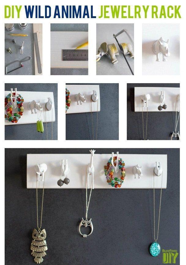 How To make Jewelry holder - DIY Jewelry Organizer Ideas