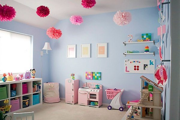Kids playroom for girls