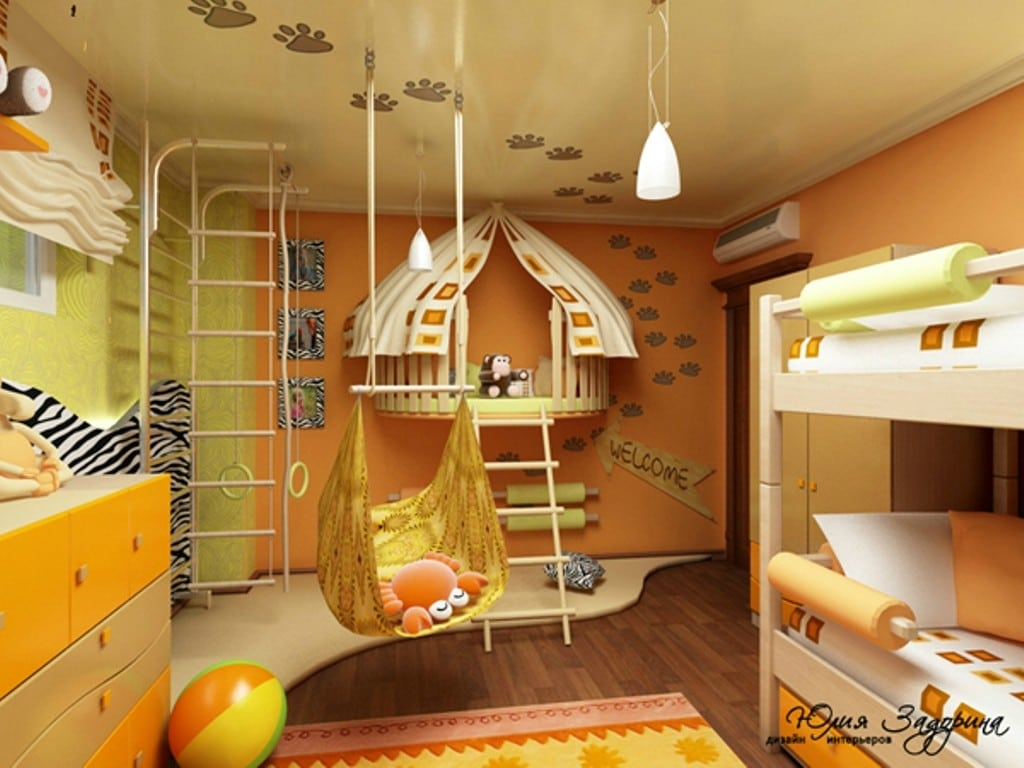 20 best kids playroom ideas children 39 s playroom 2017 for Interior designs for kids
