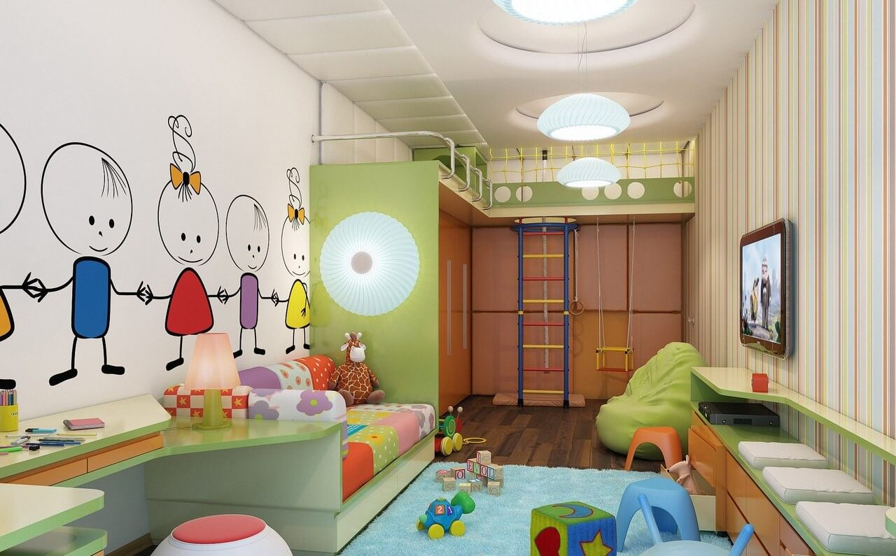 20 best kids playroom ideas children 39 s playroom 2017 for Kids play rooms