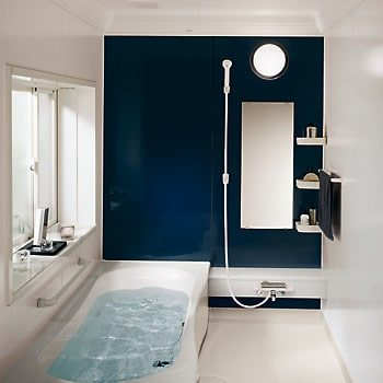 Navy Blue bathroom color schemes
