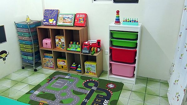 Children's Playroom storages