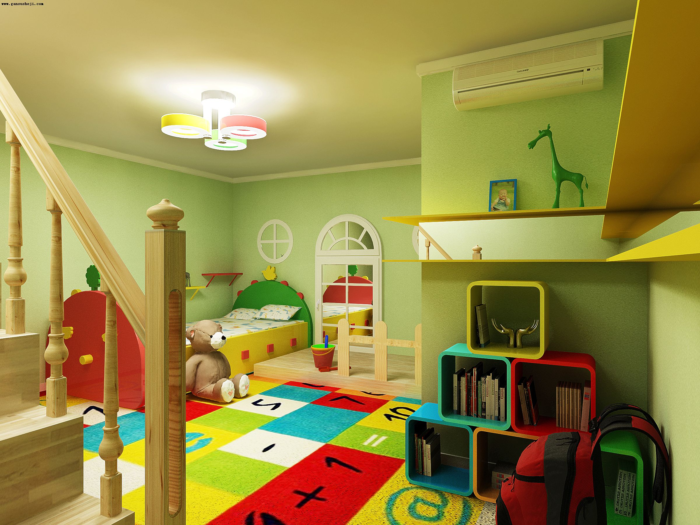 Toy Room Colors