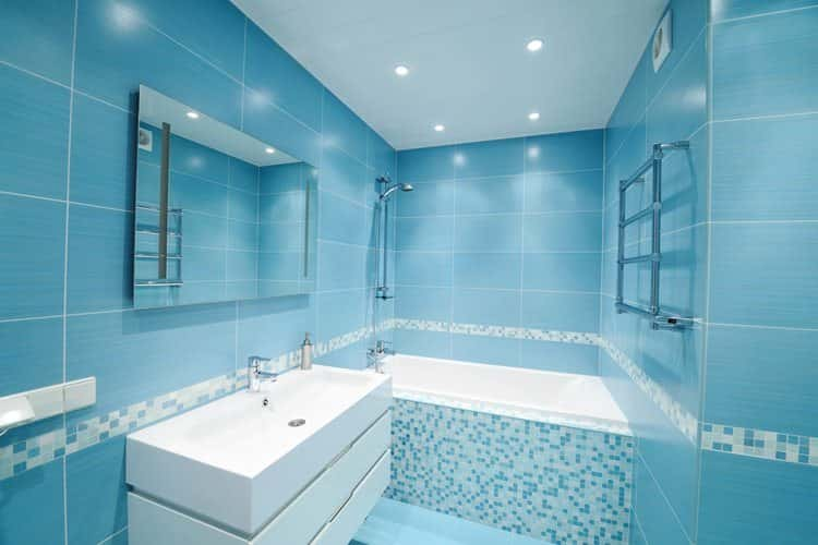 Sky blue bathroom color schemes 2016/2017