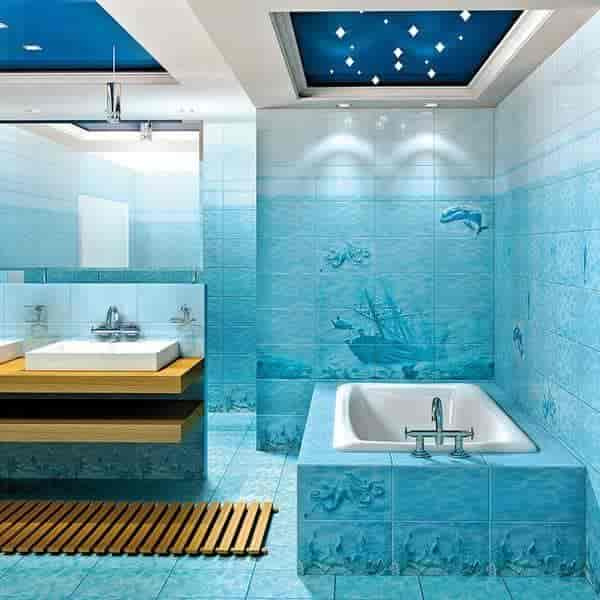 charming blue bathroom color schemes | 20 Best Bathroom Color Schemes & Color Ideas for 2017 / 2018