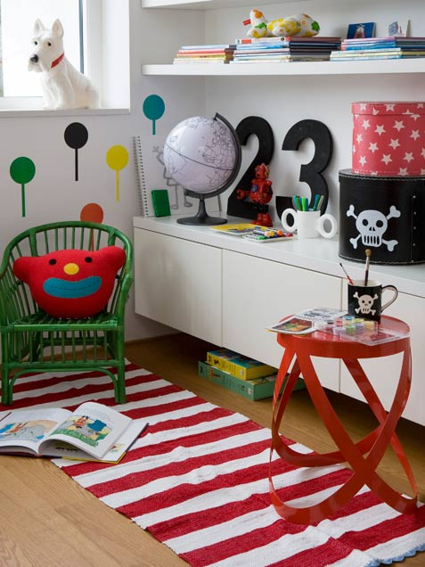 Playroom furniture for small spaces