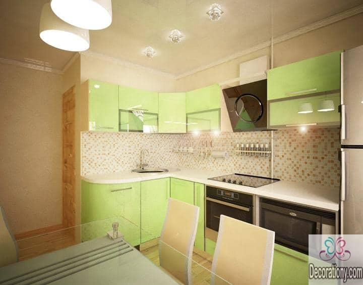 35 l shaped kitchen designs ideas decoration y - Kitchen design in small space decoration ...
