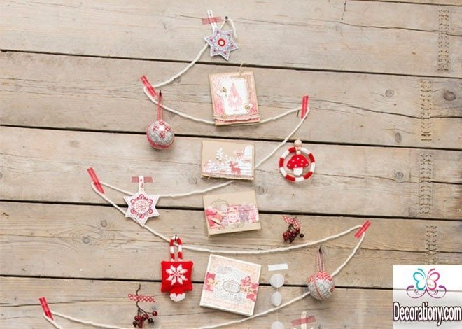 Diy christmas decorations homemade ornaments decoration y for Do it yourself christmas tree decorations