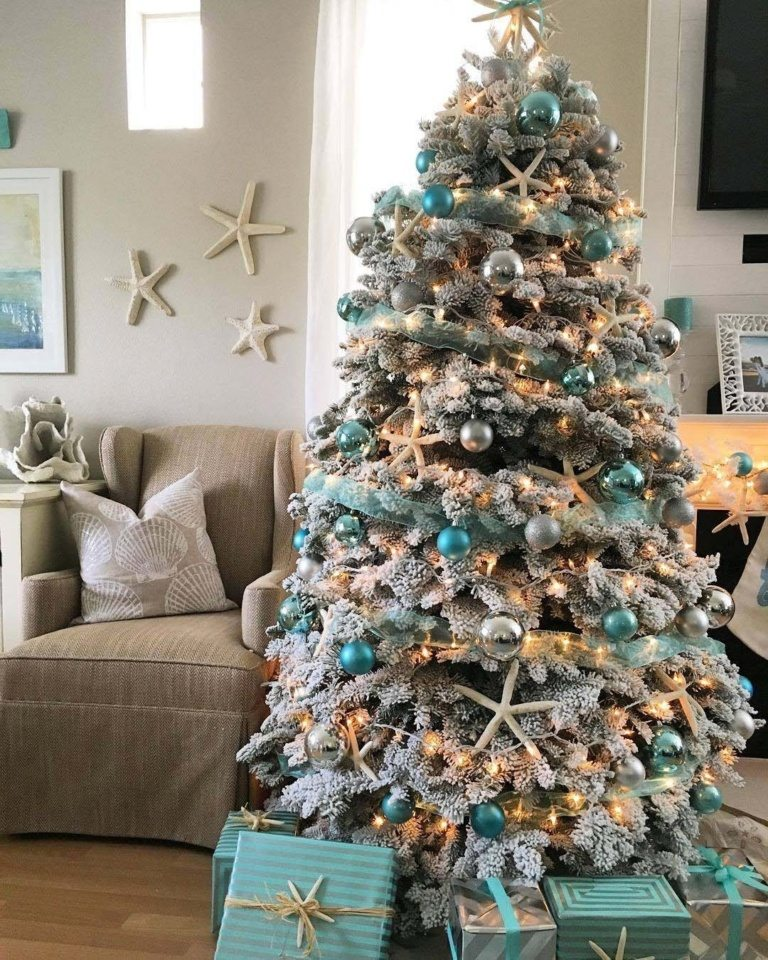 Colorful Christmas Tree Decoration Ideas
