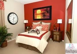 bold bedroom accent wall colours