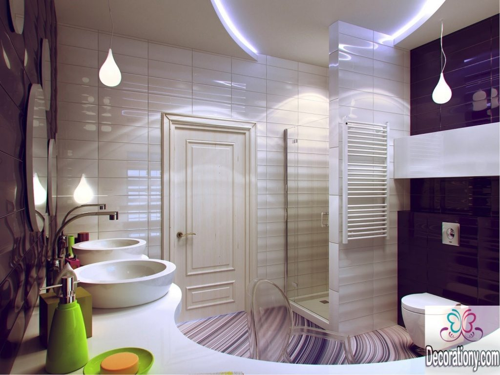 Small bathroom decorations