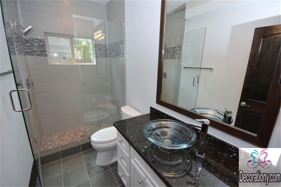Black granite countertops for bathroom