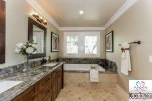 Granite bathroom countertops colors