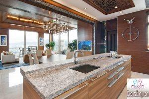 granite countertops colors for kitchen 2017