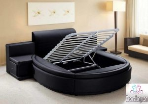 contemporary round bed ideas 2017