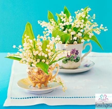table decorations for spring 2017