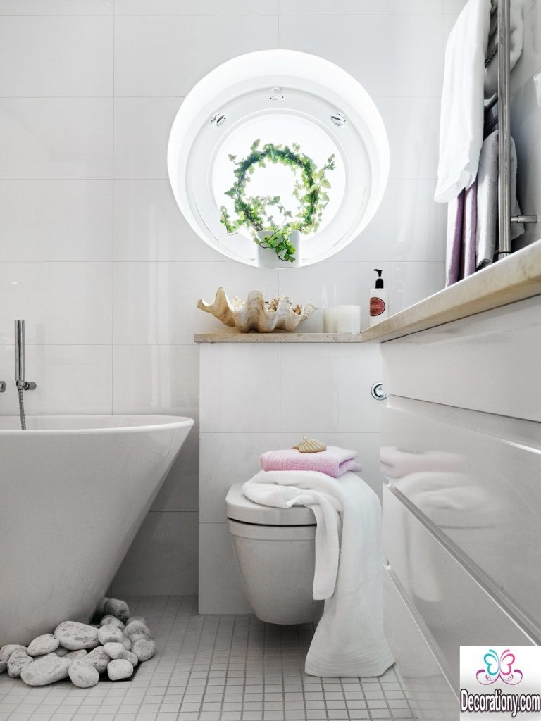 bright small bathroom decorating ideas