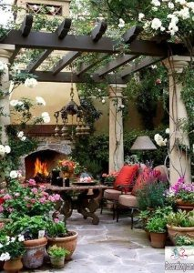 outdoor spring decorating ideas 2017