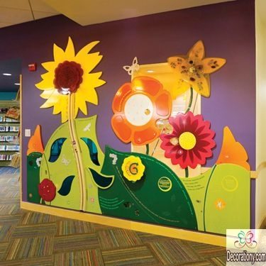 spring decorating ideas for library
