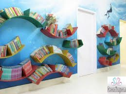 decorating ideas for library at school