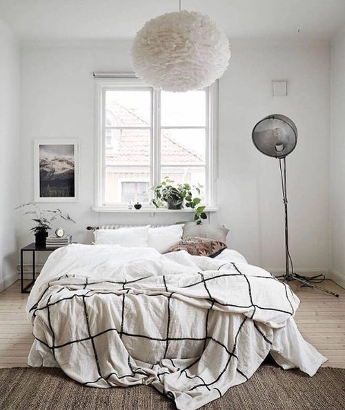 Floor lamp - bedroom lighting ideas