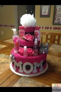 DIY mothers day cake