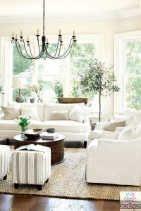 Living room lighting fixture idea