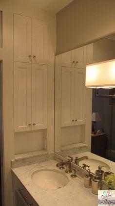 Bathroom mirror medicine cabinet