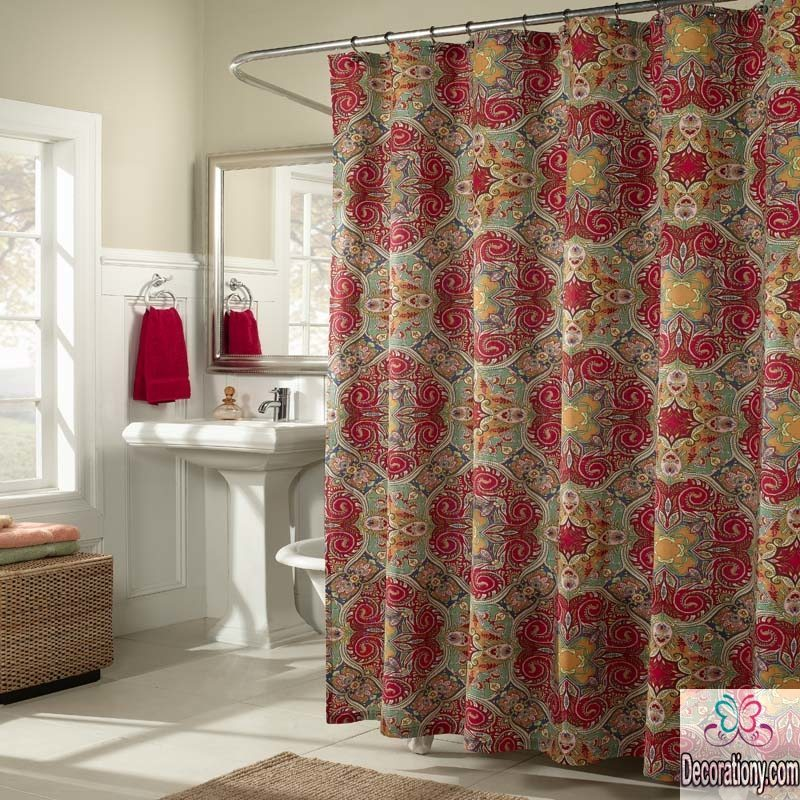 Bathroom shower ideas for curtains