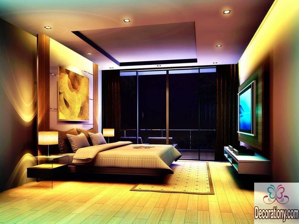8 modern bedroom lighting ideas decorationy. Black Bedroom Furniture Sets. Home Design Ideas