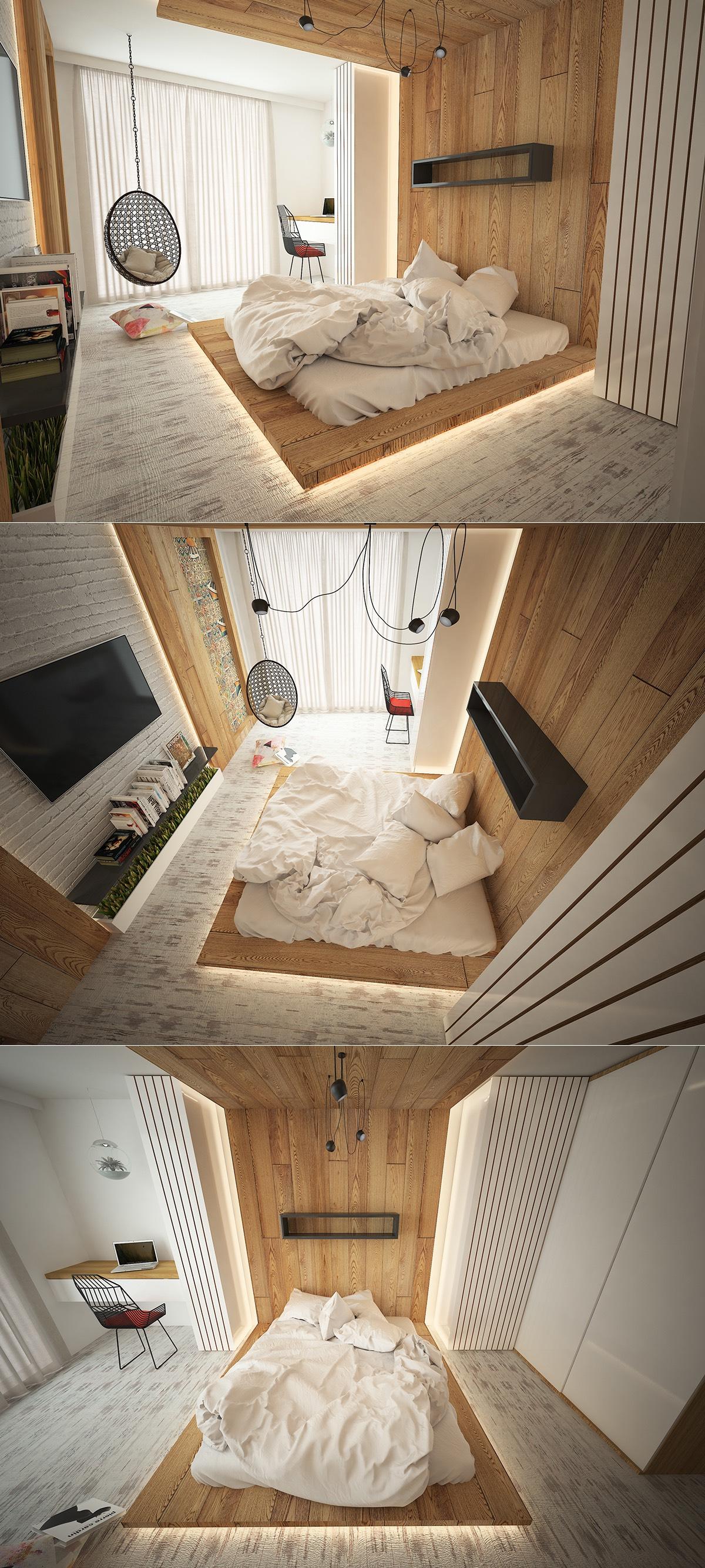 Elegant bedroom lighting ideas