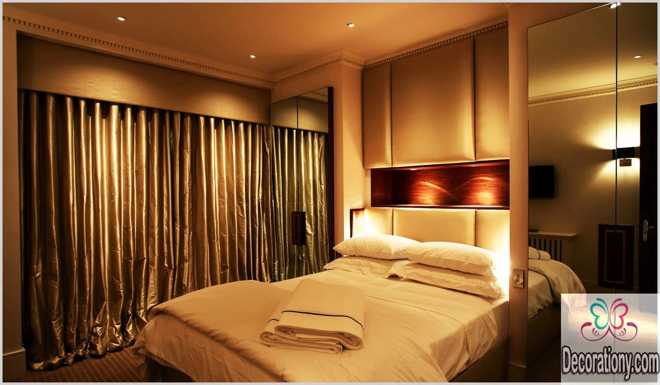 8 modern bedroom lighting ideas decorationy for Small bedroom lighting ideas
