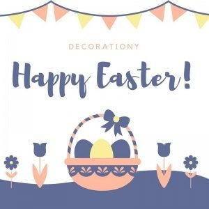 Happy outdoor easter decorations from decorationy!