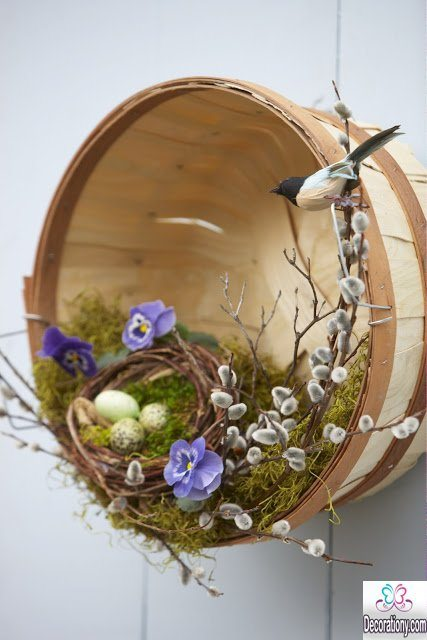 Easter decorations - Adorable Easter Basket