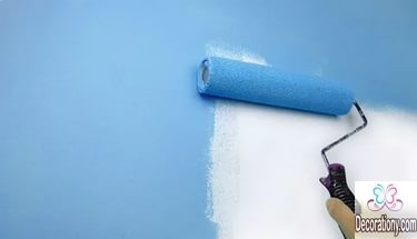 how to Easily and professionally paint a room