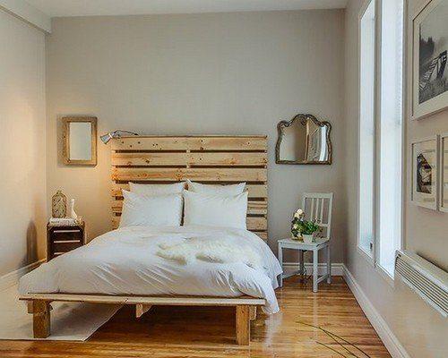 Simple Beautiful pallet beds Ideas