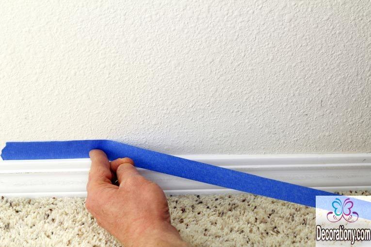 Learn how to paint your room trim