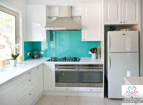 Turquoise kitchen backsplash ideas 2017