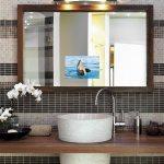 bathroom mirror frames