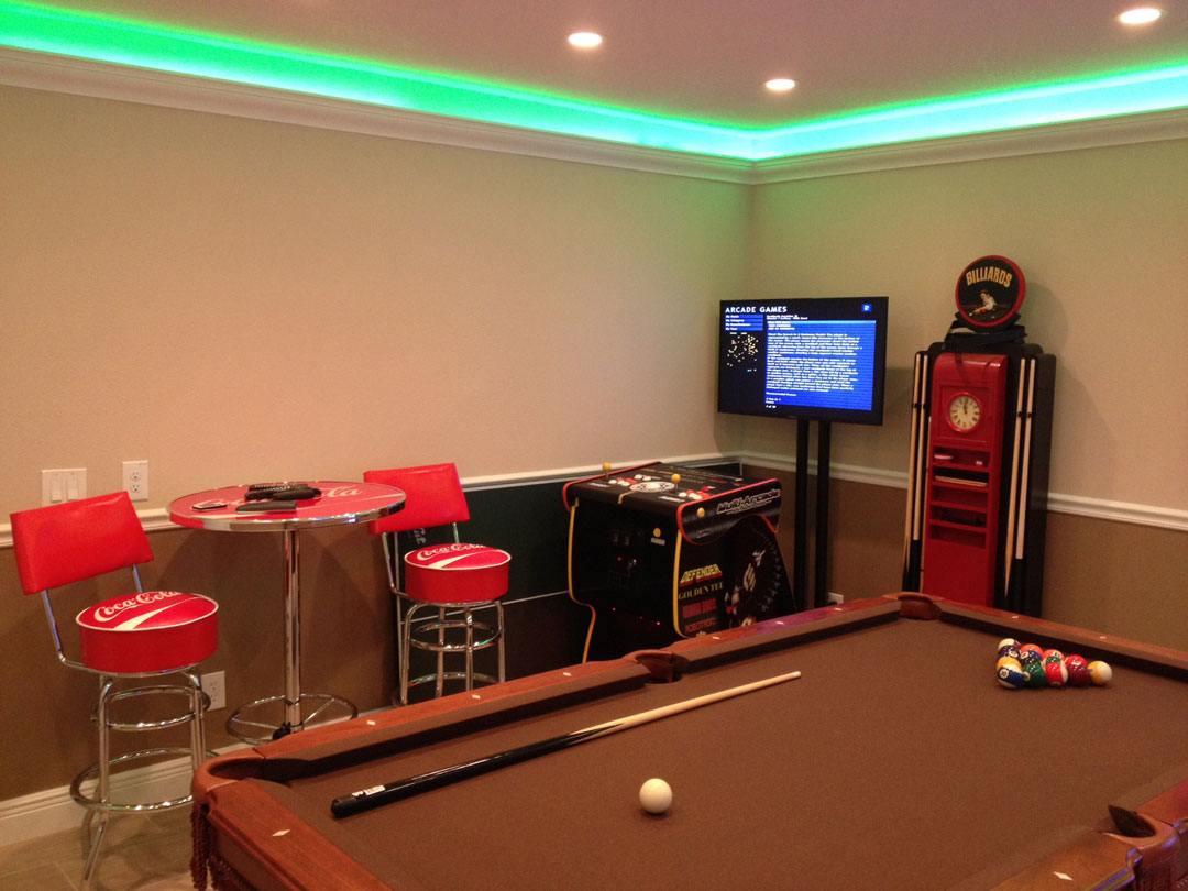 Champion game room