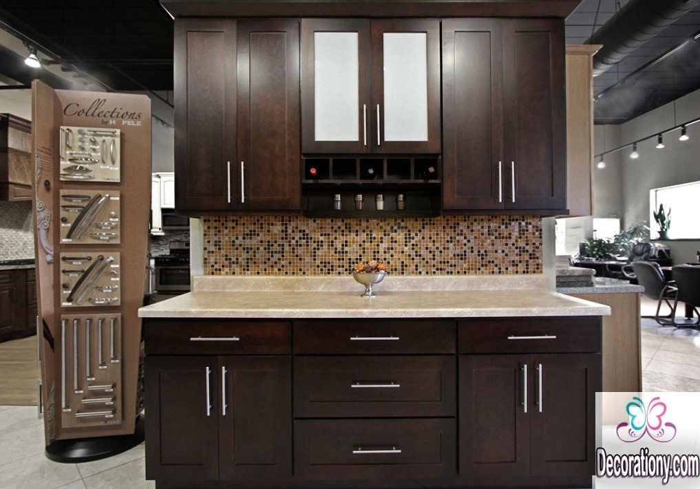 dark-chocolate-brown-kitchen-cabinet-sizes