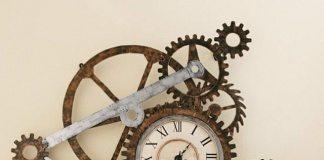 gear-looks-wall-clocks-steampunk-decor