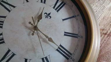 How to make a clock - Selver Vanity