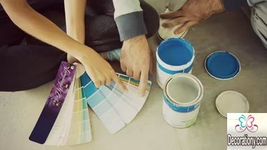 Materials for how to paint a room
