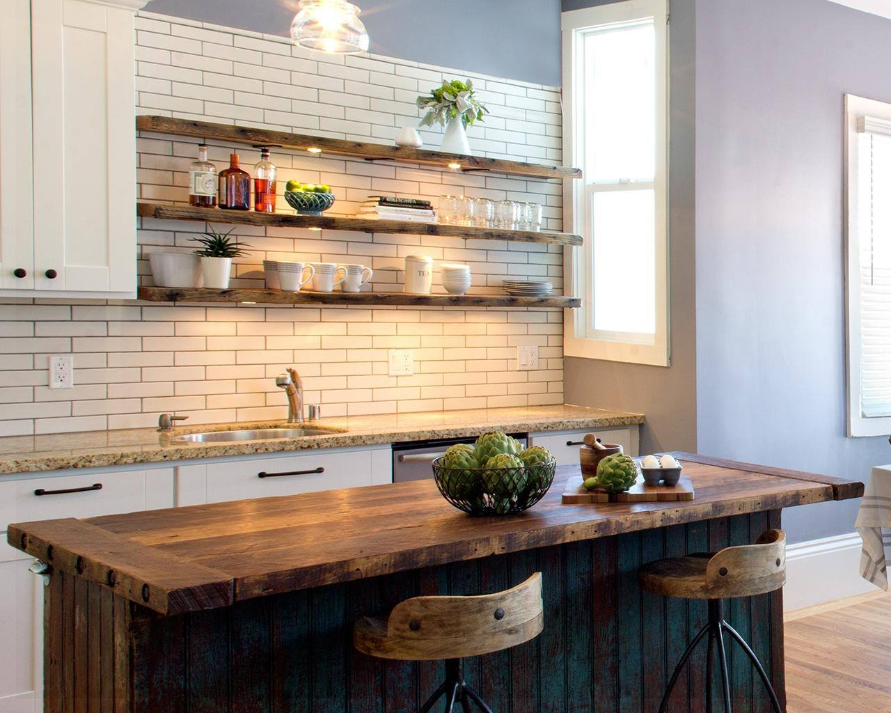 Trendy Display 50 Kitchen Islands With Open Shelving: 10 Open Shelving Kitchen Specially Picked Styles