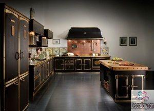 Steampunk decor kitchen decoration