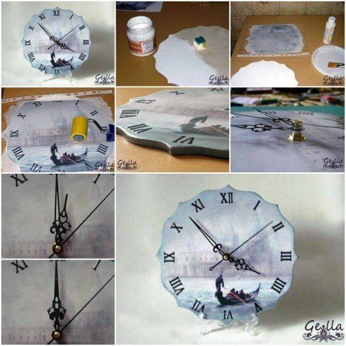How to make a cool clock